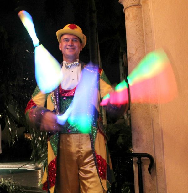 LED Juggling