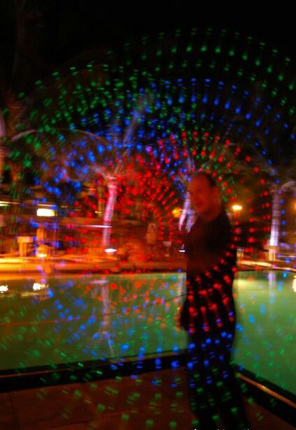 LED Poi Spinning